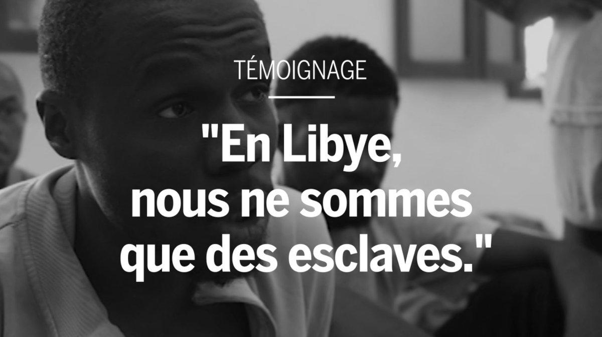 VIDEO | Un migrant raconte  « En Libye, nous ne sommes que des esclaves » Propos recueillis par @FrdricBobin