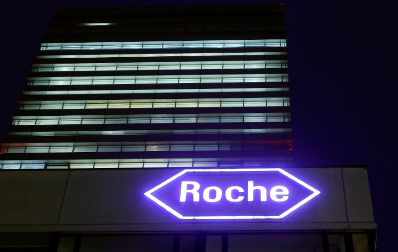 Roche shares climb after trial wins in cancer, hemophilia https://t.co/sXzMvzQakB https://t.co/2mlGQnyP0o
