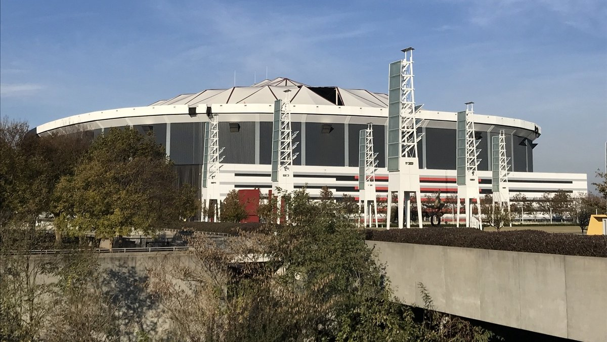 Georgia Dome, facility that once held Olympics and Super Bowl, imploded