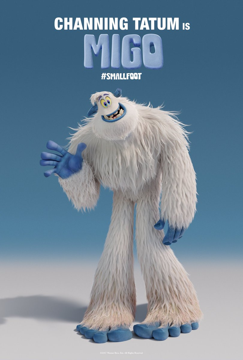 Yeti or not, here we come. Can't wait for you to meet Migo in #SMALLFOOT! In theaters September 28, 2018. https://t.co/fD1WCCSIWa