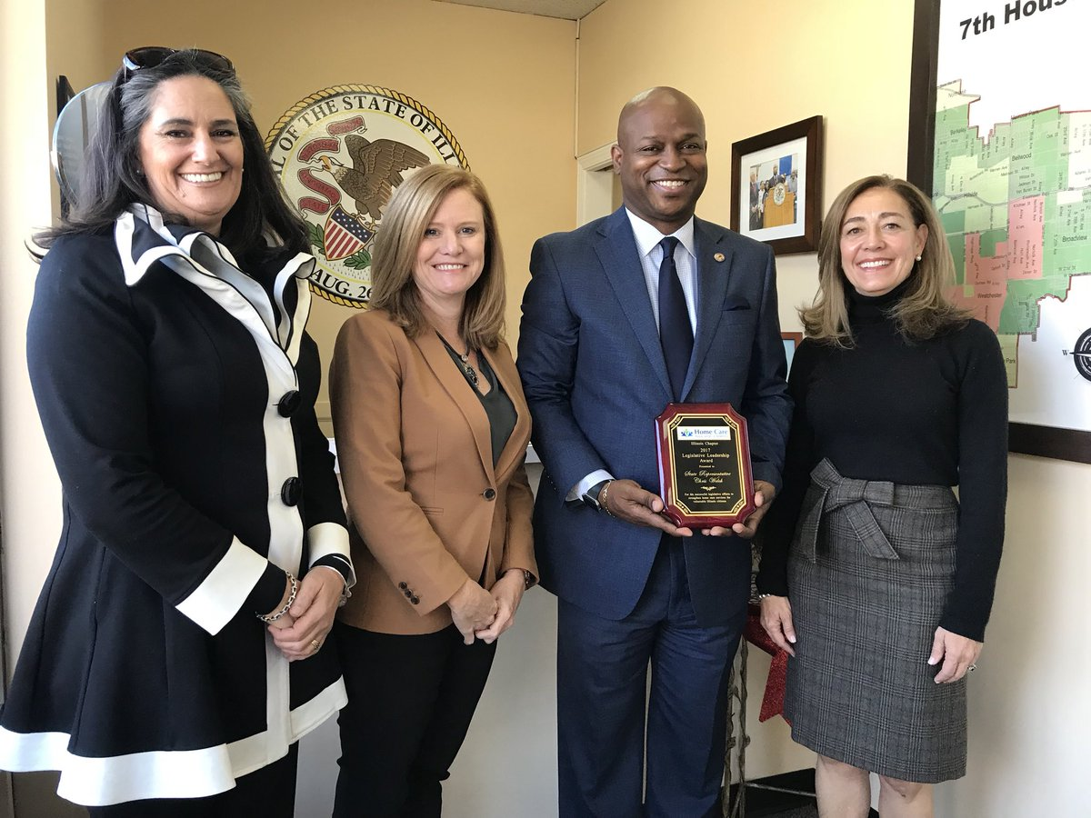 test Twitter Media - Truly honored to be recognized by the Illinois Chapter of Home Care Association for my Legislative work this past session. Thankful for Aishling  Dalton-Kelly, Katie Fielmann, and Karen Stephenson stopping by my District Office to present me with an award!  #CaregiverAppreciation https://t.co/M5L3e2etmb