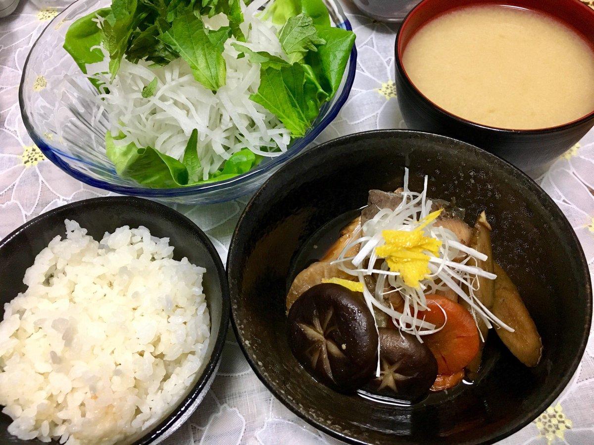 test ツイッターメディア - 今日の夜ご飯は和食でした🙌🍴💕 お腹いっぱいすぎるーーー\⍩⃝/💨 明日もきっと夜までだから アリアナちゃん聴きながら ご飯の仕込みしてたよ🌼💜‧✧̣̥̇‧ https://t.co/gO8BFUUOMZ