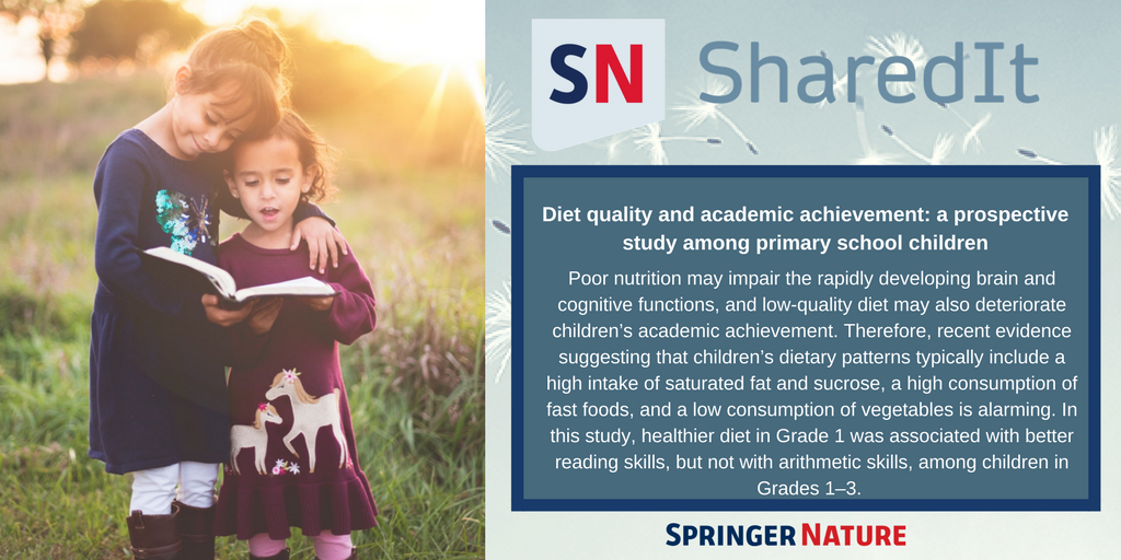 test Twitter Media - Today is #UniversalChildrensDay! Read how proper diet and nutrition can improve academic performance in children -- free with #SharedIt. https://t.co/pO5sqnTtn7 https://t.co/G2zvzBVAdw