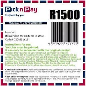 SCAM ALERT: Pick n Pay is not giving away R1 500 coupons | @Fin24_Tech   https://t.co/BdfOueAs4L https://t.co/Gk0juKchs1