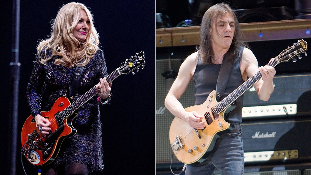 Heart's Nancy Wilson salutes Malcolm Young: He 'was the embodiment of rock itself' https://t.co/f7yEGah46E https://t.co/huqpL8uiAw
