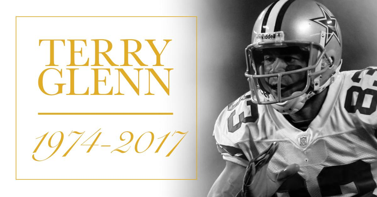 Longtime NFL WR Terry Glenn has died at the age of 43. https://t.co/VreiHKxPkk https://t.co/xKwN3SQFNK