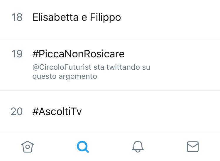 #PiccaNonRosicare