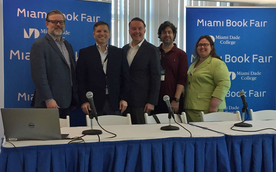 test Twitter Media - Why do we need libraries? Yesterday morning at @MiamiBookFair a panel discussion on The Public Library in a Disruptive Age with @Kalendaries @MrChrastka @AndrewRichard & Ray Baker @MDPLS Hear the complete program RT @BeyondTheBook https://t.co/n14iDfoahe