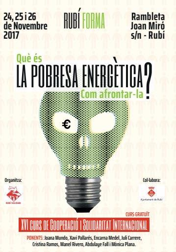 test Twitter Media - 📆💡🔌 Aquest cap de setmana tenim cita amb la #PobresaEnergètica a Rubí. La Mònica Plana i en Juli Carrere seran al XVI Curs en cooperació i solidaritat internacional. T'apuntes? Més info i inscripcions a https://t.co/YzIU1YIicM https://t.co/3GkO6AB4S5
