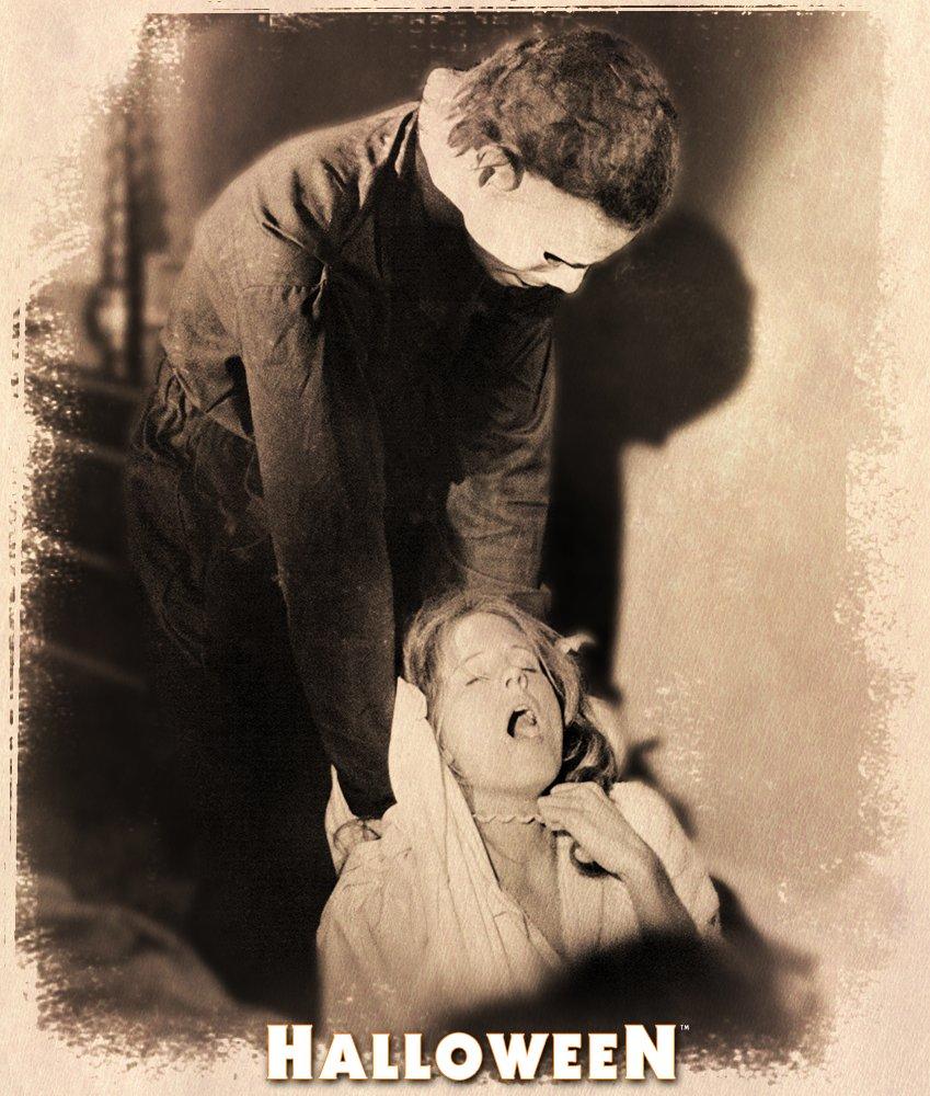 Totally!!! Behind the Scenes   John Carpenter's #Halloween 🎃#MyersMonday #MichaelMyers https://t.co/usajYxTEEg