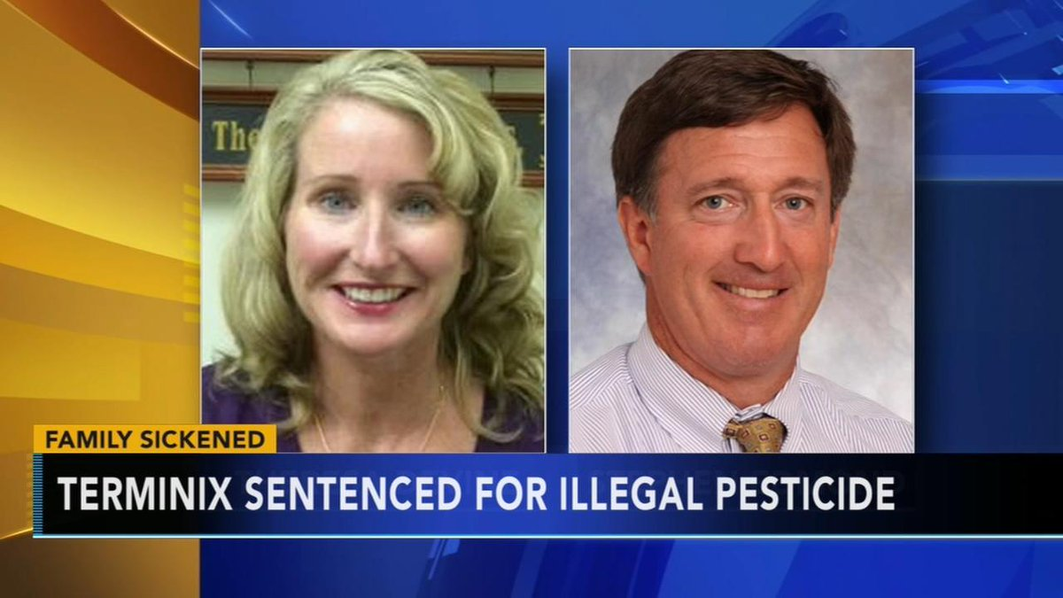 Terminix sentenced for illegal spraying pesticide that sickened Delaware family