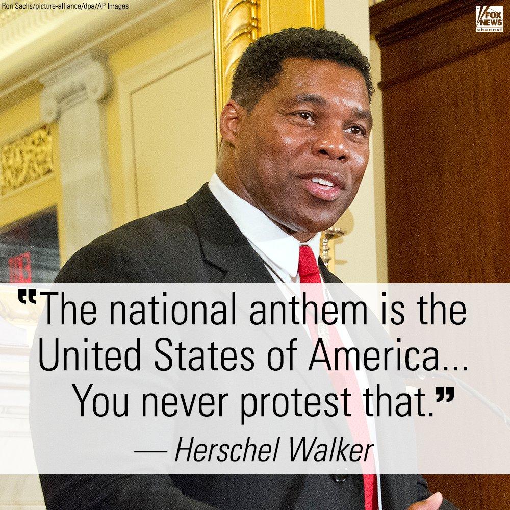 .@HerschelWalker on NFL national anthem protests https://t.co/IvhN85k9dR https://t.co/G3abGt2TQT