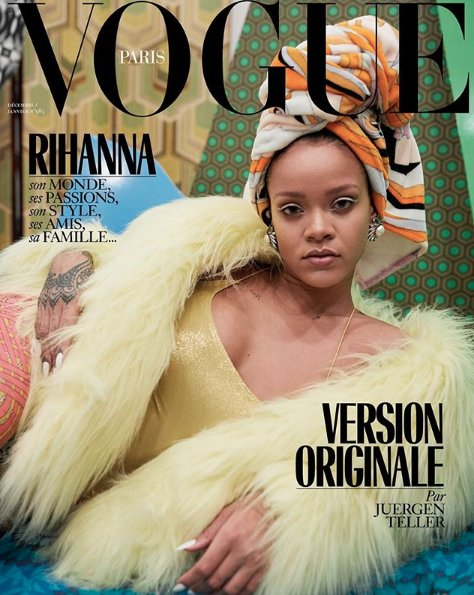 Rihanna has three amazing Vogue Paris covers. https://t.co/14LK2vTMe9 https://t.co/bEV9XP6kA4