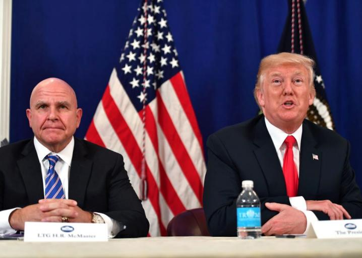 Report: H.R. McMaster, like Rex Tillerson, has said privately that Trump is real dumb https://t.co/epxxfrimob https://t.co/nbkRoiIyYk