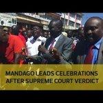Mandago leads celebrations after Supreme Court verdict
