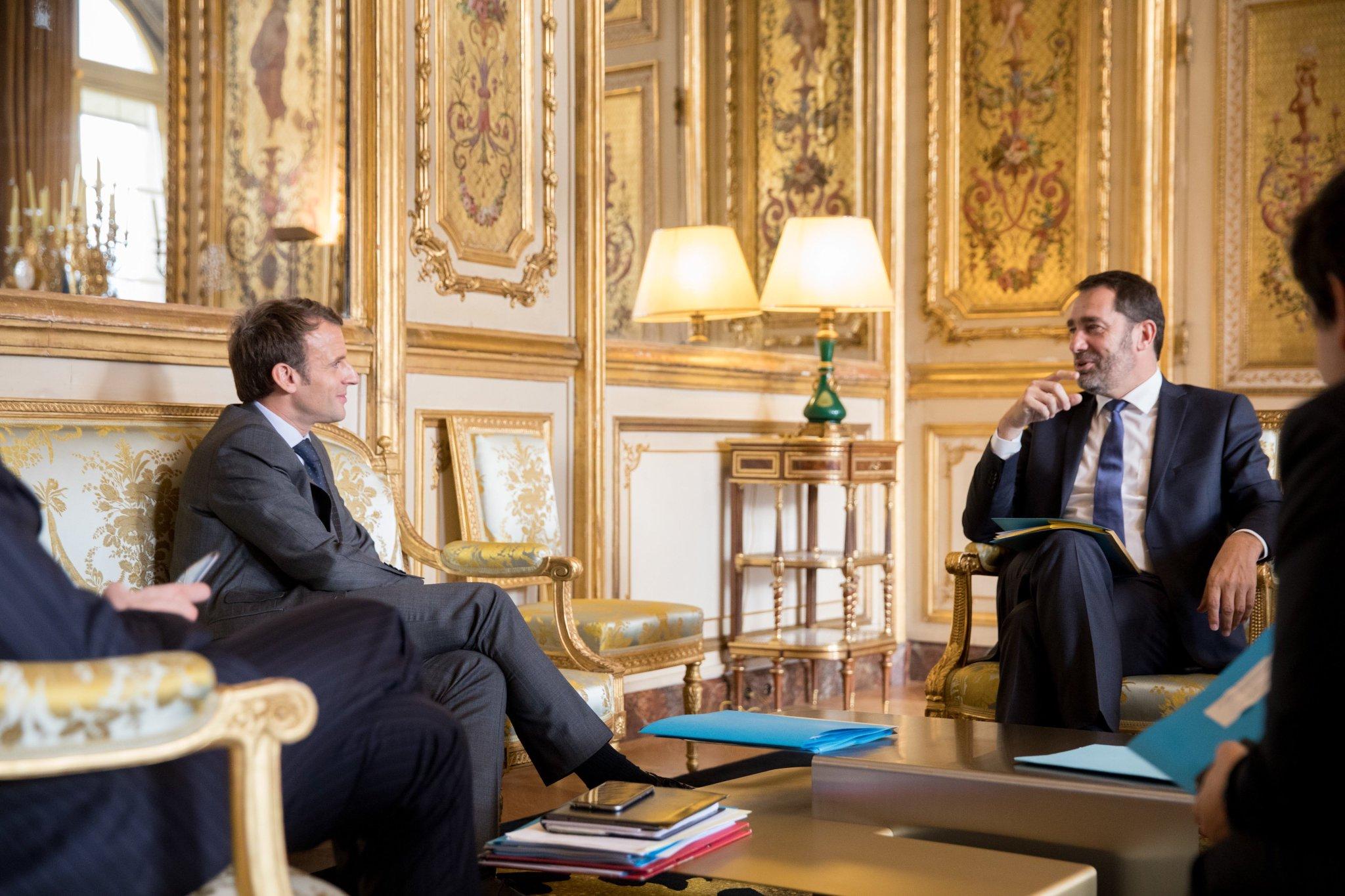 Avec @CCastaner, Délégué général de La République en Marche. https://t.co/pC9XwYdeyw