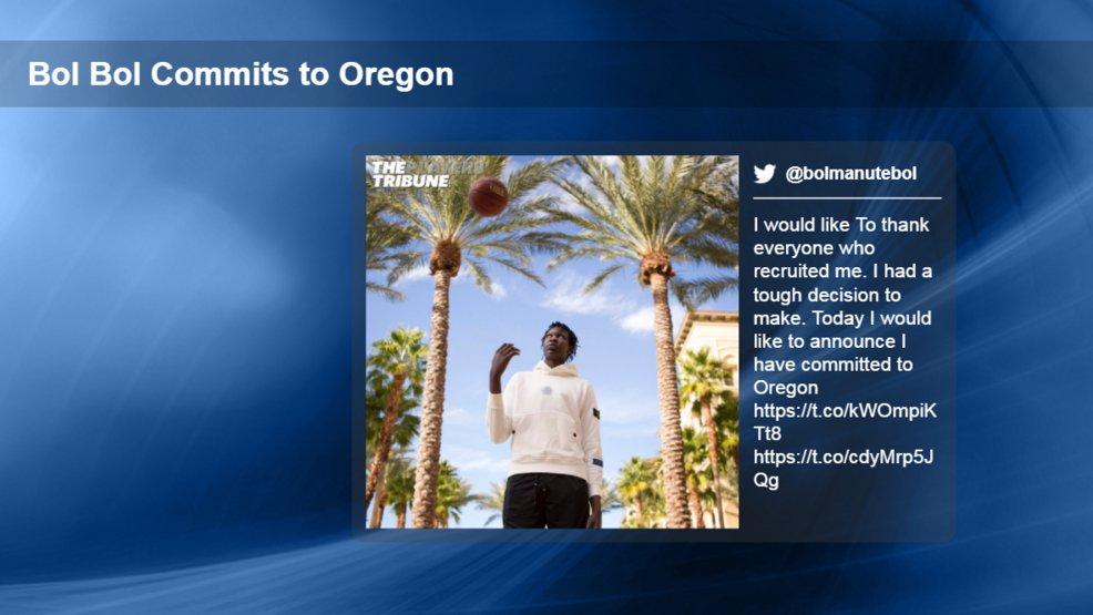 Top basketball recruit Bol Bol commits to Oregon