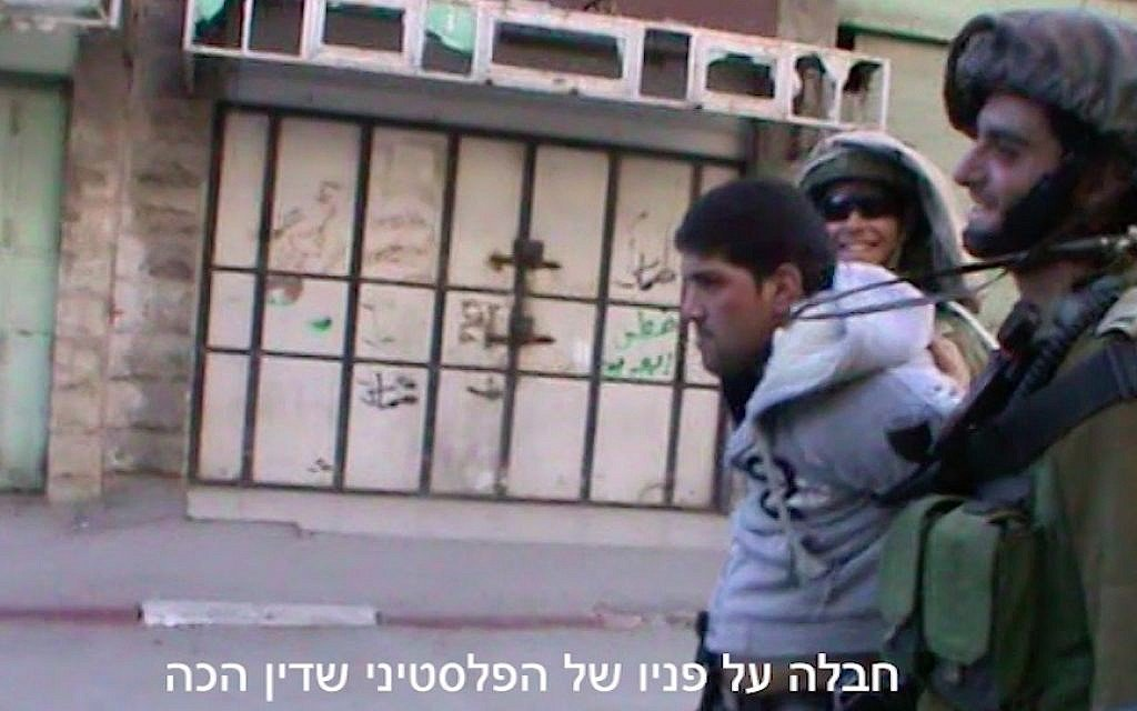 Breaking the Silence says new video proves spokesman assaulted Palestinian