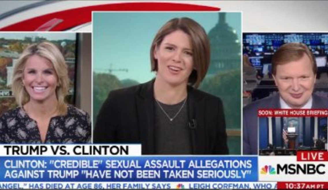 OOPS? Kasie Hunt Awkwardly Says Rand Paul Assault Is 'One of My Favorite Stories' https://t.co/s9WkPQGOwt (VIDEO) https://t.co/cV6iit7z9P