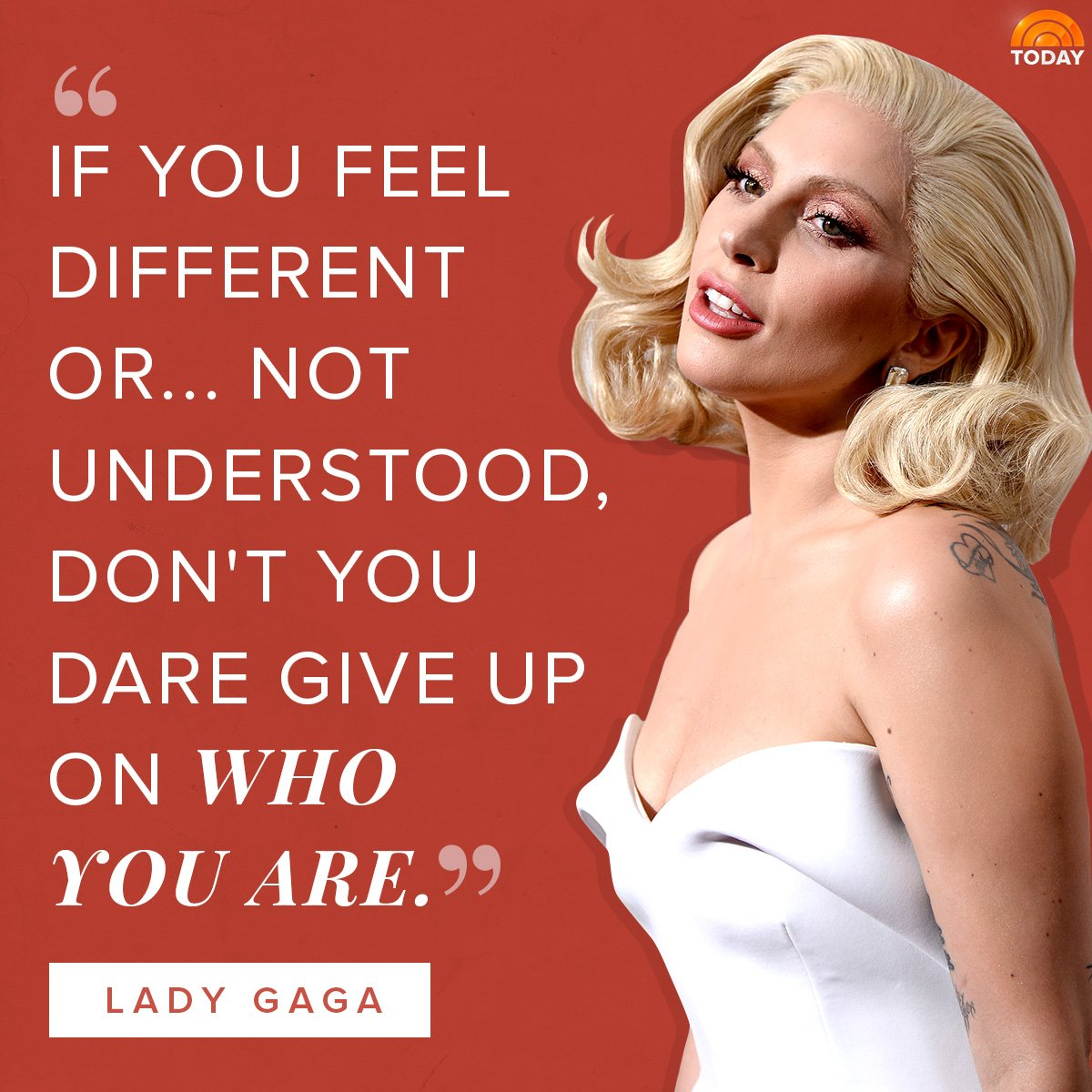 At last night's American Music Awards, @ladygaga took a moment to send an important message to her fans