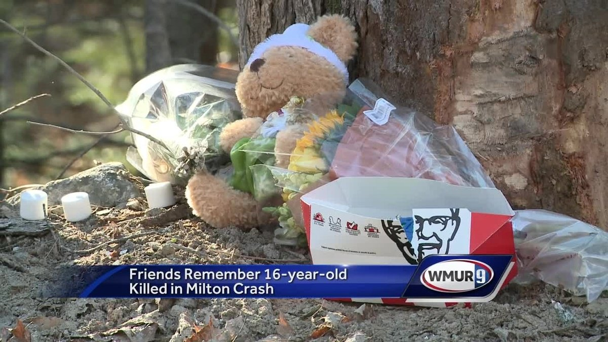 Friends remember teenager killed in Milton crash