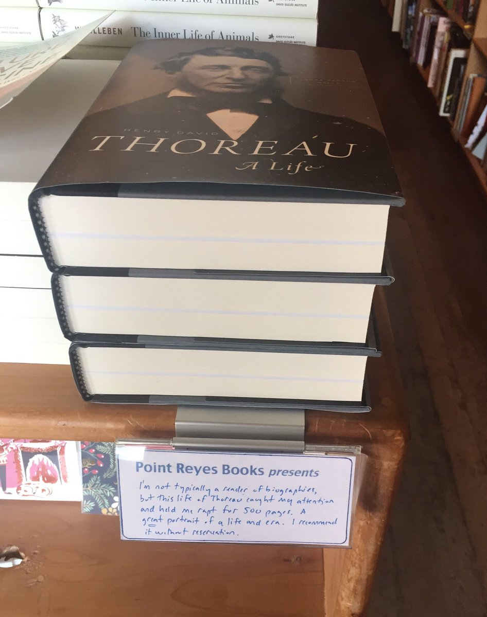 test Twitter Media - Gist of this @PointReyesBooks shelf talker? Read Laura Dassow Walls's Thoreau bio! https://t.co/QVgmLrSQoh