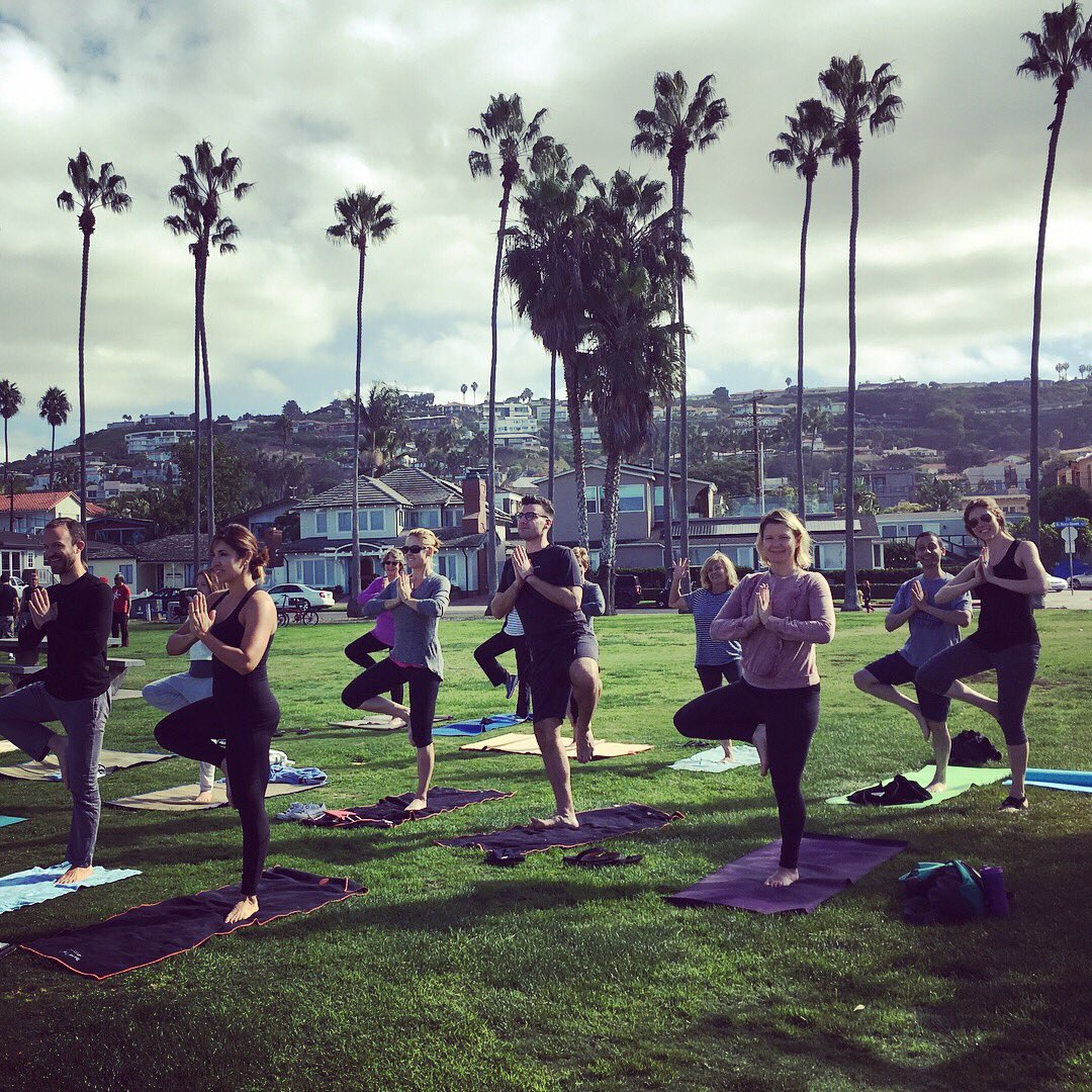 test Twitter Media - I knew I would need it and I'm so glad we made it happen! #Yoga and #meditation at #LaJollaShores before the #wedding was the best way to get centered and remember what this day was really all about! 🌊❤️🙏🏻🙌#weddingday #letsdothis #yogapants by @gracedbygrit https://t.co/YQXFFItIRj