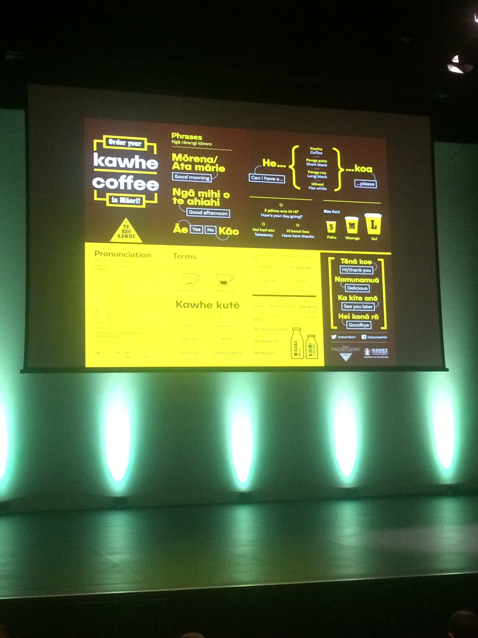 Awesome work @reomaori #NDFNZ https://t.co/jgaxwUOAgG