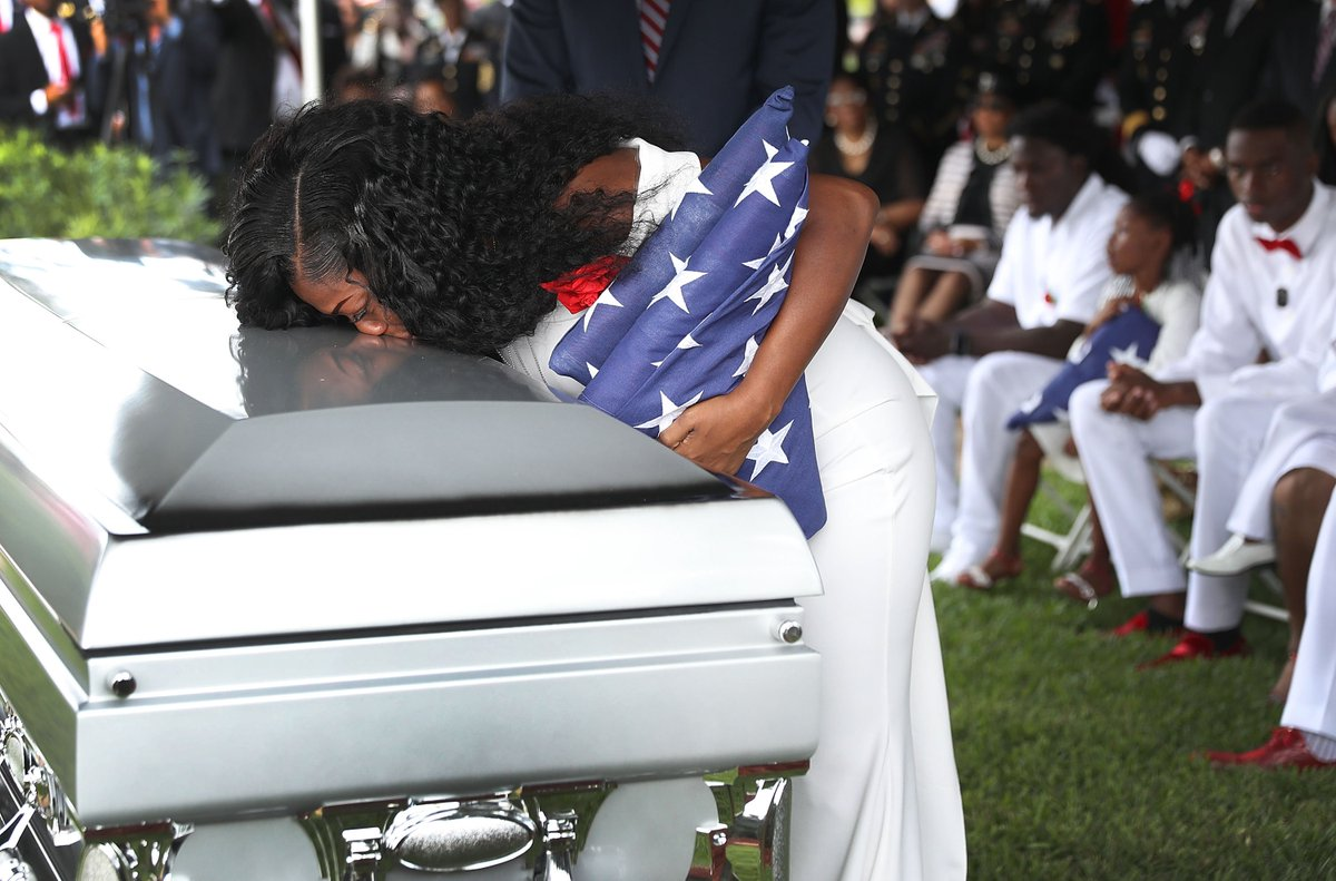 Under Trump, U.S. military deaths in war zones are up for the first time in six years