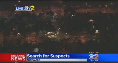 Authorities Searching For 3 Suspects In Norwalk Deputy-InvolvedShooting