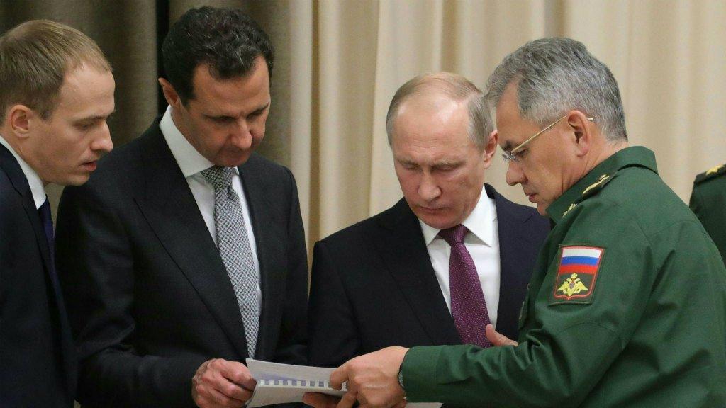 Putin hosts Assad in Sochi ahead of key Syria summit