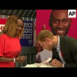 Prince Harry visits pop-up HIV testing center in London