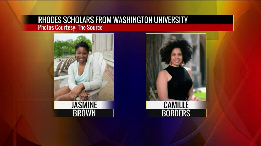 Rhodes Scholars selected from Washington University