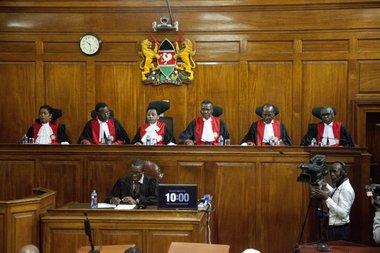 Kenya's Supreme Court upholds election of Kenyatta