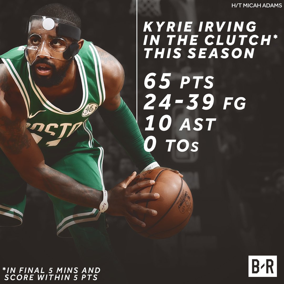 Is Kyrie the most clutch playe kyrie
