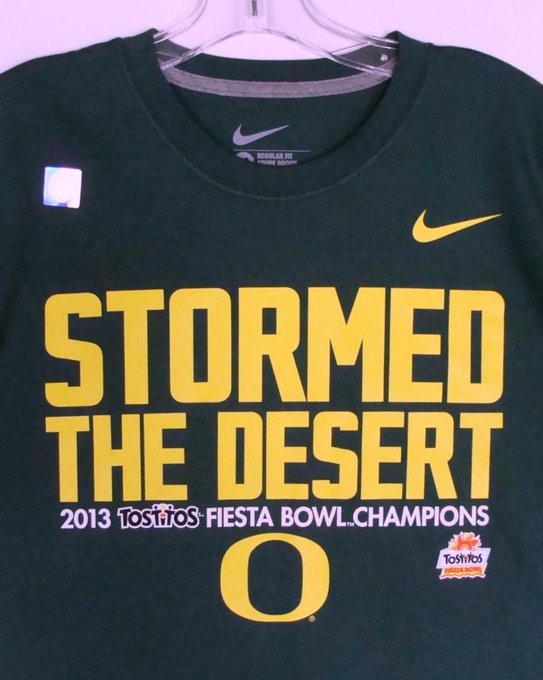 Oregon Ducks 2013 Tostitos Fiesta Bowl Champions Mens T-Shirt Football NCAA Nike https://t.co/BPPfnRDV0i https://t.co/67hlC0nimf