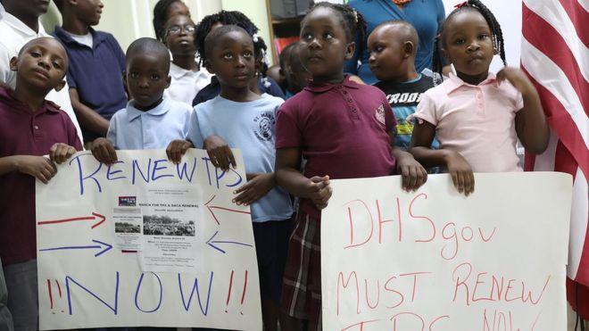 US to scrap Haitian immigrants' protected status
