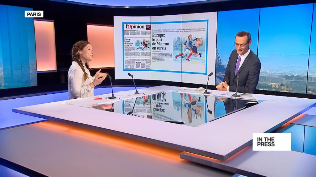 "IN THE PAPERS - ""Bad news for Merkel is bad news for Europe"""