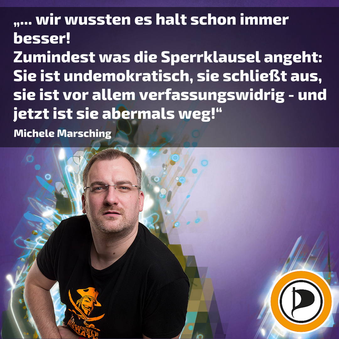 #Sperrklausel