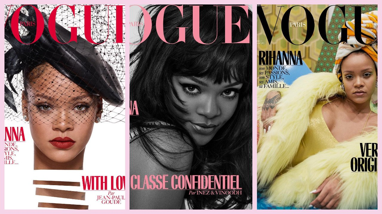 Rihanna is the cover star and guest editor of Vogue Paris's December 2017 issue. https://t.co/14LK2wbn5H https://t.co/goE4z2VvDk