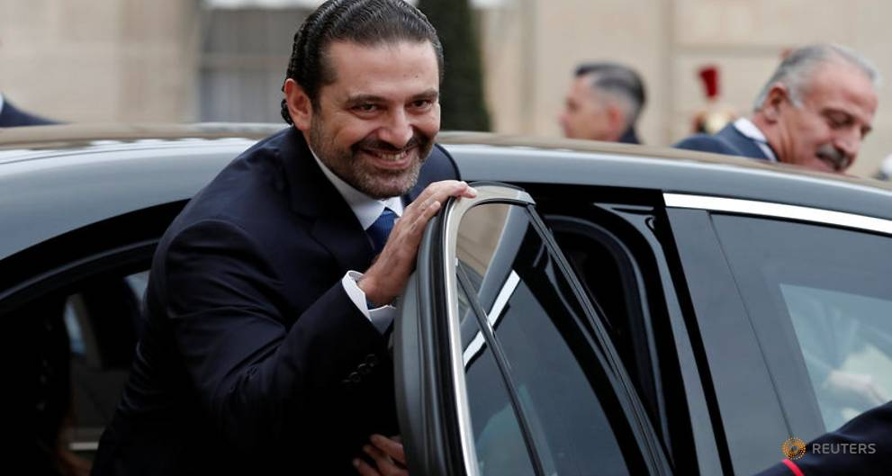 Lebanon's Hariri arrives in Cairo for meeting with Sisi - Egypt airport sources