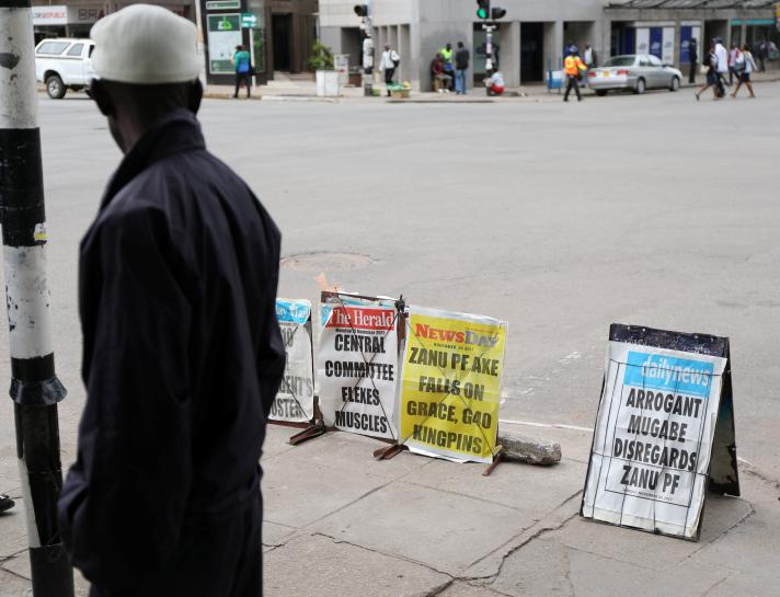 Only five ministers, attorney general turn up for Zimbabwe cabinet meeting: sources
