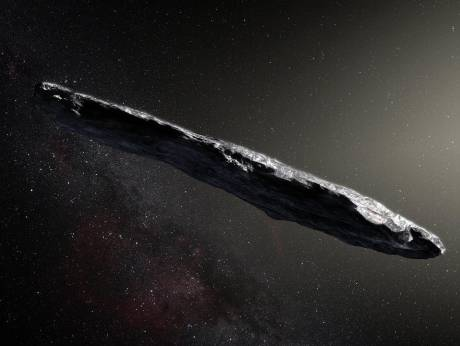 Cigar-shaped asteroid came from another solar system — study