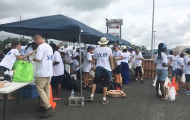 St. Croix Residents Line Up Early for VI-R3 Distribution