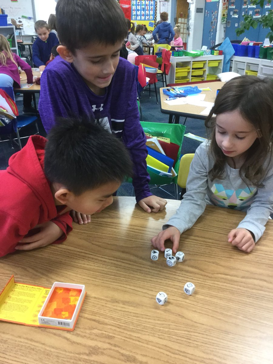 test Twitter Media - Letting our imaginations run wild with Story Cubes! @WescottSL #d30learns https://t.co/tNifTSyuoA