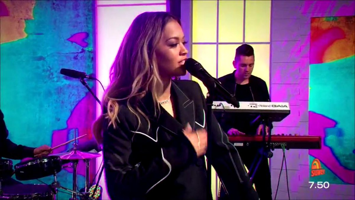 RT @sunriseon7: WATCH: @RItaOra performs her SMASH-HIT single 'Your Song', LIVE on Sunrise! ???????????????????????? #sun7 https://t.co/Fxs7kqoGAJ