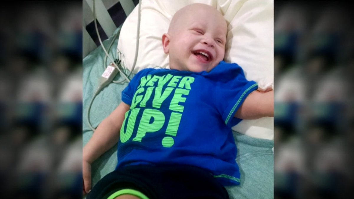 2-year-old overcomes stage 4 cancer with breakthrough treatment at St. Jude