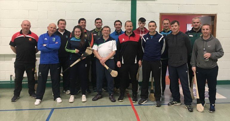 test Twitter Media - Great group of coaches completing the Award one Hurling coaching course this evening with Martin Fogarty in Killina Secondary school. https://t.co/bOoMIREoSz