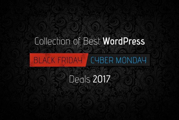 [#eCommerce ] Black Friday & Cyber Monday WordPress Coupons & Deals 2017 – Get them Now! https://t.co/OM8FULqhFx https://t.co/bg3yZFIkqV