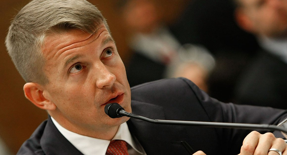 Former Blackwater chief to testify to House panel in Russia inquiry